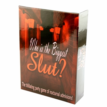 Who Is the Biggest Slut? - A Hilarious Game