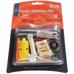 Click to enlarge image of Adventure Medical Kits SOL Pocket Survival Pak
