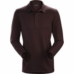 Click to enlarge image of ARC'TERYX Captive LS Polo (Men's)