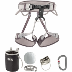 Click to enlarge image of Petzl Corax Climbing Harness Kit