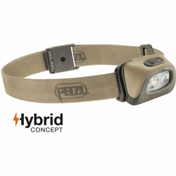 Click to enlarge image of Petzl Tactikka + RGB Headlamp