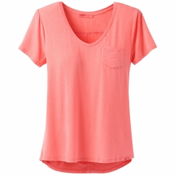Click to enlarge image of prAna Foundation SS V-Neck Top (Women's)