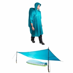 Click to enlarge image of Sea to Summit Ultra-Sil Nano Tarp Poncho