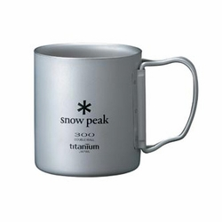 Click to enlarge image of Snow Peak Titanium 300 Double Wall Mug