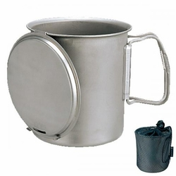 Click to enlarge image of Snow Peak Trek 700 Titanium Cookset