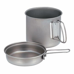 Click to enlarge image of Snow Peak Trek 900 Titanium Cookset