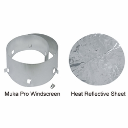 Click to enlarge image of SOTO Muka Pro Windscreen & Reflective Sheet