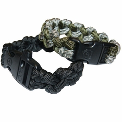 Click to enlarge image of Ultimate Survival Paracord 550 Bracelet