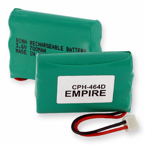 1X3AAA/D Replacement EMPIRE CPH-464D Cordless Phone Battery