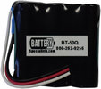 Battery Specialists BT-50Q-INSERT Battery Insert for Topcon BT-50Q, Requires Soldering to Install