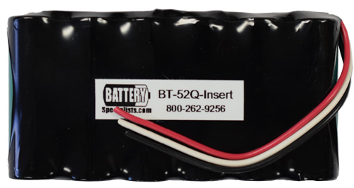 Battery Specialists BT-52Q-INSERT Battery Insert for Topcon BT-52Q, BT-52QA, Requires Soldering to Install