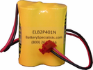 Lithonia ELB2P401N, ELB-2P401N 2.4V 1200mAh Emergency Lighting Battery