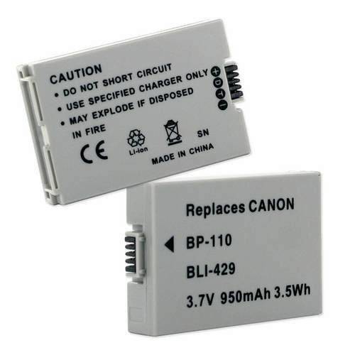 CANON BP-110 replacement battery Empire BLI-429
