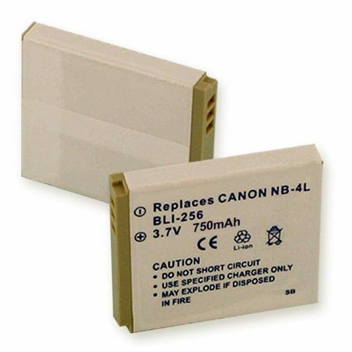 CANON NB-4L replacement battery Empire BLI-256
