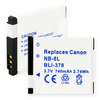 CANON NB-8L replacement battery Empire BLI-378