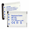 CASIO NP-110 replacement battery Empire BLI-383