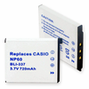 CASIO NP-60 replacement battery Empire BLI-337