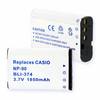 CASIO NP-90 replacement battery Empire BLI-374