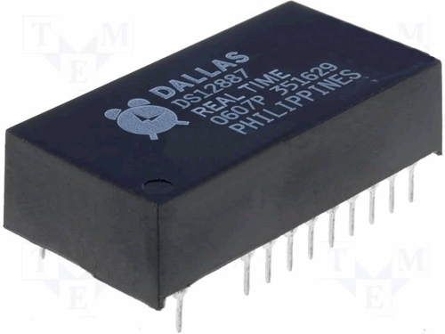 Dallas Semiconductor DS12887 Clock Chip w/ Battery
