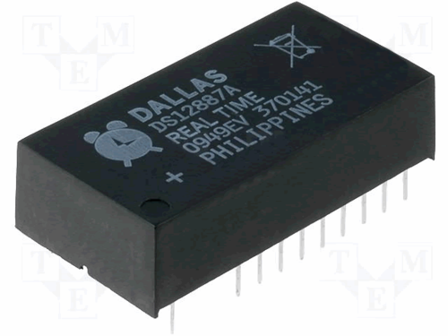 Dallas Semiconductor DS12887A, MK48T87AB, OEC12C887A Clock Chip w/ Battery