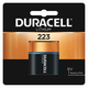 Duracell DL223, Replaces: CRP2 Photo Lithium