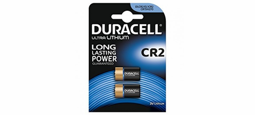 Duracell DLCR2 2-Pack, Replaces: CR2 Photo Lithium