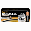 Duracell MN1500 24-Pack, AA 1.5V Coppertop Consumer Alkaline
