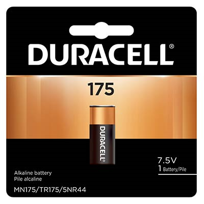 Duracell MN175B, 7.5V 175, 175A, A175, TR175, 5NR44 Electronic Alkaline