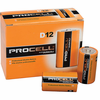 Duracell PC1300 12-Pack, D 1.5V Industrial Industrial Alkaline