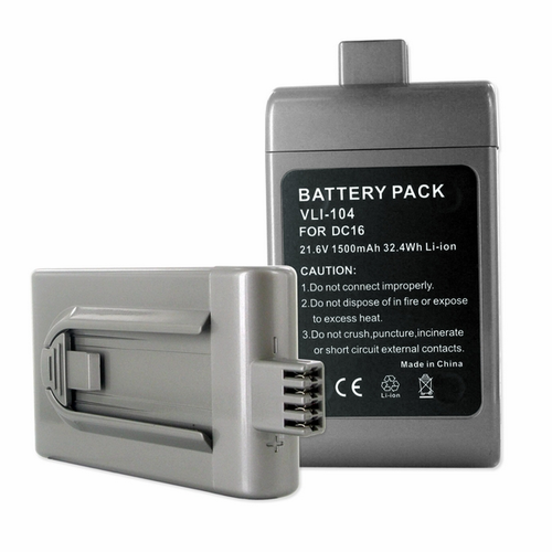 VLI-104 Replaces 12097, 912433-01, 912433-03, 912433-04, BP01  Rechargeable Vacuum Battery