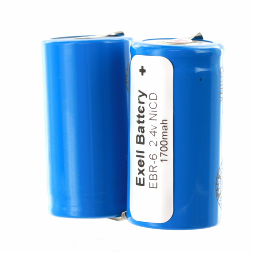 EBR-6 Razor Battery 2.4V 1700mAh For Norelco, Schick, Remington s
