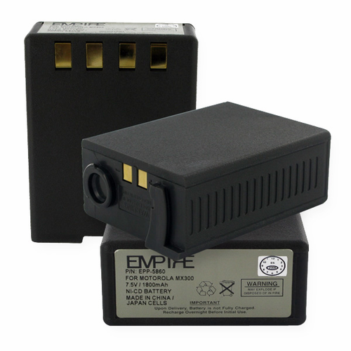 Empire EPP-5860 Radio Battery 1800mAh