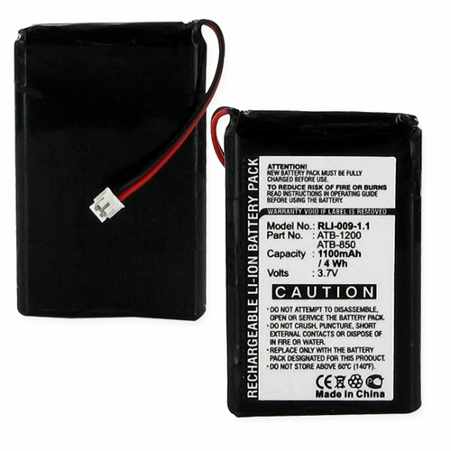 RTI RTI ATB-1200, ATB-850 TV Remote Control Battery
