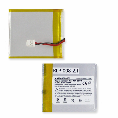 Universal BTPC56067A, For MX-3000, MX3000I, PC046067-H TV Remote Control Battery