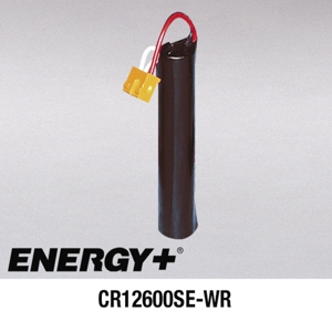 Energy+ CR12600SE-WR, For Modicon 0085, 0185 series PLC Programmable Logic Controller Battery