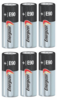 Eveready E90 6-Pack, Replaces: N-Size, E90, MN9100, LR1 Electronic Alkaline