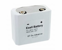 Exell Battery 457/467 Electronic Alkaline