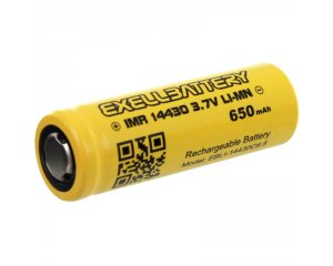 EXELL BATTERY EBLI-14430C6.5, Rechargeable High Capacity Battery IMR LiMN