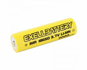 EXELL BATTERY EBLI-18650C20BT, Rechargeable Button Top Battery IMR LiMN