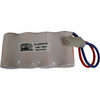 Interstate Batteries ANIC0095 4.8V 1500mAh Emergency Lighting Battery