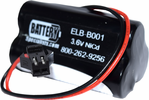 Lithonia ELB-B001 3.6V 600mAh Emergency Lighting Battery