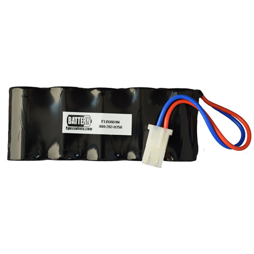 Lithonia ELB0601N 6V 1500mAh Emergency Lighting Battery