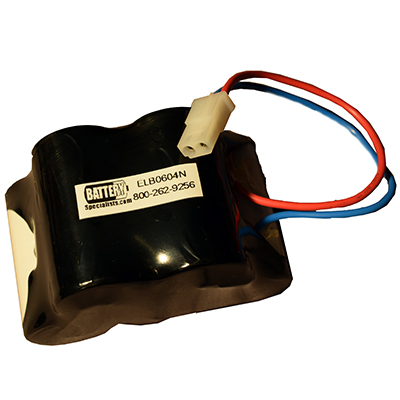 Lithonia ELB0604N 6V 5000mAh Emergency Lighting Battery