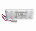 Lithonia ELB0701N 6V 2200mAh Emergency Lighting Battery