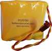 NABC 721259000 4.8V 700mAh Emergency Lighting Battery