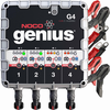 NOCO G4 4.4A 4-Bank Smart Battery Charger