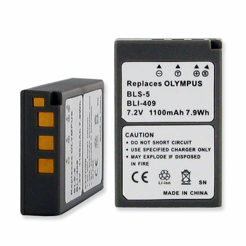 OLYMPUS BLS-5 replacement battery Empire BLI-409