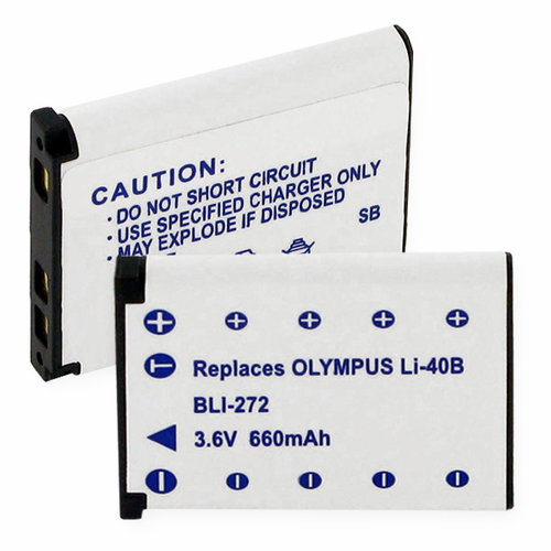 OLYMPUS Li40B replacement battery Empire BLI-272