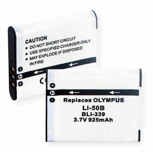 OLYMPUS Li50B replacement battery Empire BLI-339