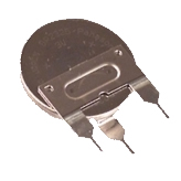 Panasonic BR2325-1VG Coin Cell with Solder Pins
